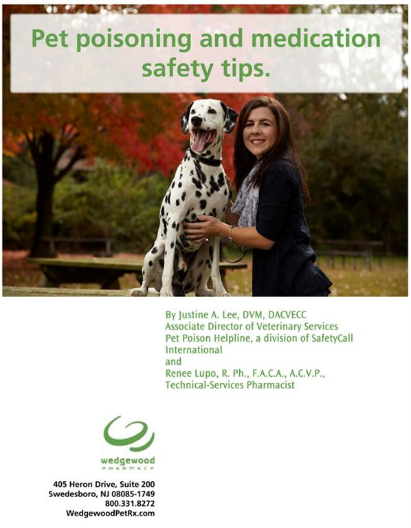 Pet Poisoning and Medication Safety Tips